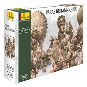 1/72 WWII British Paratroopers Box (Heller)