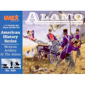 1/72 Mexican Artillery At The Alamo (IMEX)
