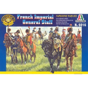 1/72 Napoleonic French Imperial General Staff (Italeri)