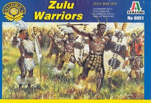 1/72 Zulu Warriors Box (Italeri)