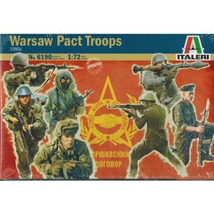 1/72 Warsaw Pact Troops Box (Italeri)