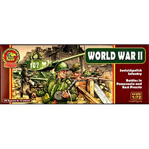 1/72 WWII Ultima Ratio: Soviet & Polish Infantry Battles in Pomerania & East Prussia (Mars)