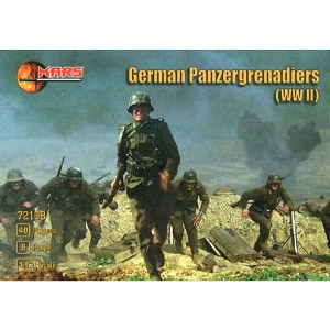 1/72 WWII German Panzergrenadiers Box (Mars)