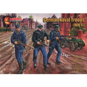 1/72 WWII German Naval Troops Box (Mars)