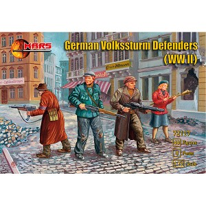 1/72 WWII German Volkssturm Defenders Box (Mars)
