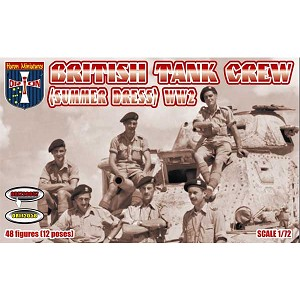 1/72 WWII British Tank Crew (Summer Dress) (Orion)