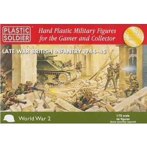 1/72 Late War British Infantry 1944-45 (PSC)