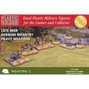 1/72 Late War German Infantry Heavy Weapons (PSC)