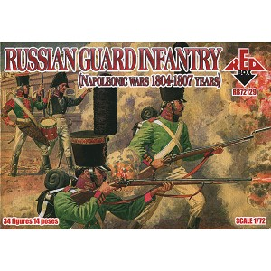 1/72 Napolonic Russian Guard Infantry 1804-1807 (Redbox)