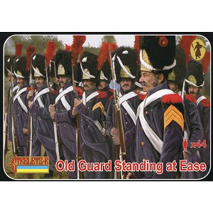 1/72 Napoleonic Old Guard Standing at Ease (STR)