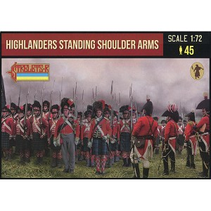 1/72 Napoleonic Highlanders Standing Shoulder Arms (STR)