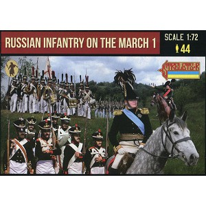 1/72 Napoleonic Russian Infantry on the March 1 (STR)