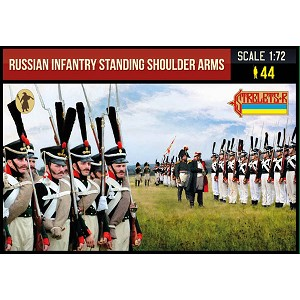 1/72 Napoleonic Russian Infantry Standing Shoulder Arms (STR)