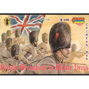 1/72 Crimean British Grenadiers in Winter Dress (STR)