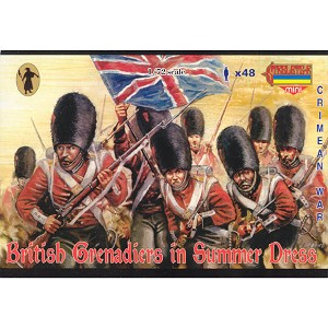 1/72 Crimean British Grenadiers in Summer Dress (STR)