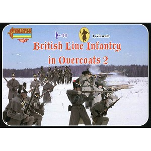 1/72 Napoleonic British Line Infantry in Overcoats 2 (STR)