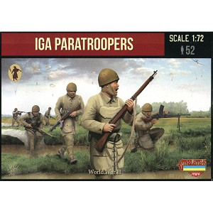1/72 WW II Imperial Japanese Army Paratroopers (STR)