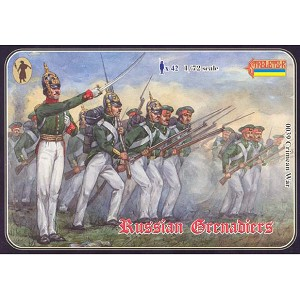 1/72 Crimean War Russian Grenadiers (STR)