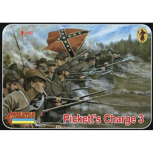 1/72 ACW Pickett's Charge 3 (STR)