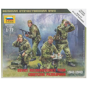 1/72 Soviet Recon Team Box (ZVE)