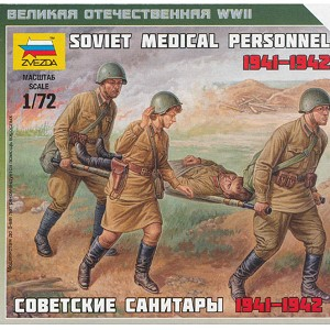 1/72 Soviet Medical Personnel Box (ZVE)