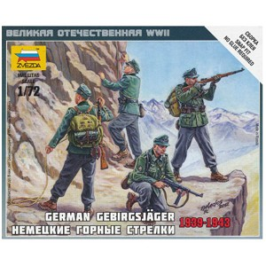 1/72 German Mountain Troops Box (ZVE)