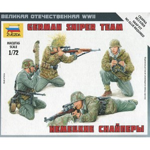 1/72 German Sniper Team Box (Zvezda)