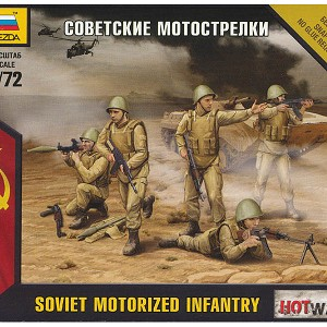 1/72 Soviet Motorized Infantry Box (Zvezda)