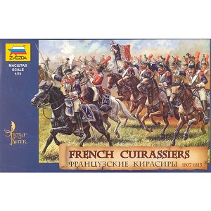 1/72 Napolonic French Cuirassiers 1807-15 (19) (ZVE)