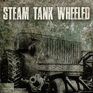 Steam Tank (Wheeled) 3D Printed (x5)