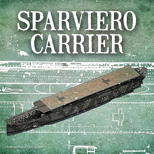 Sparviero Aircraft Carrier (3d Printed) x1