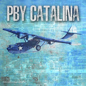 PBY Catalina Seaplane (3d Printed) x5