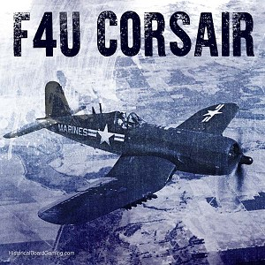 F4U Corsair Fighter (3d Printed) x5