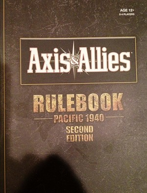 Rules Booklet - Pacific 1940 2nd Edition