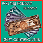 Historical Board Gaming $20.00 Gift Certificate