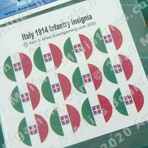 1914 Italy Roundel Decal (12)