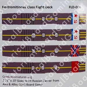 Deck Decal-Russian Kostromitinova Class