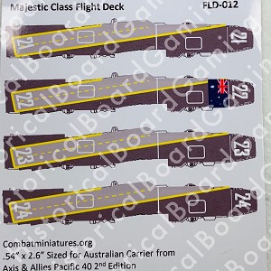 ANZAC Majestic Class Deck Decal