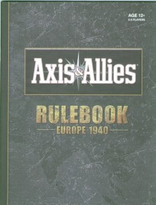 Rules Booklet - Europe 1940 1st Edition