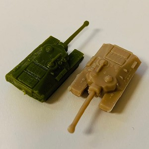 ''Battle Pieces'' - T-28 Super Heavy Tank (x5)