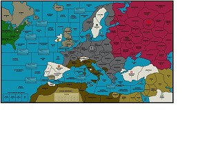 Custom Map -Advanced Europe Map