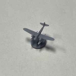CANT Z.506 w/Stand Aircraft - 3D Printed (x ONE)