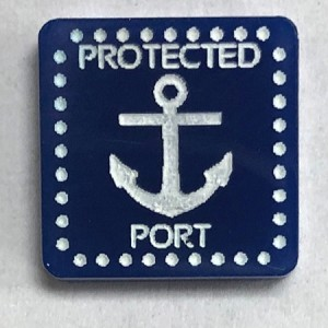 HBG Protected Port Marker (Acrylic) x5