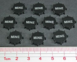 Naval Mines Tokens