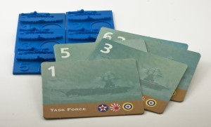 Task Force Cards - Tokens (Pacific 2001)