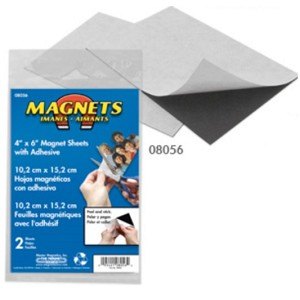 "5"" x 8"" Flexible Magnetic Sheets"